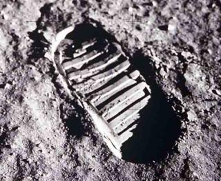 Moon Footprint